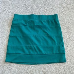 Lush Banded Mini Skirt EUC